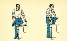 Упражнения при сидячей работе