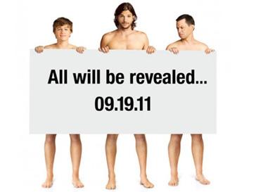 Рекламная кампания сериала «Два с половиной человека» с Эштоном Катчером
