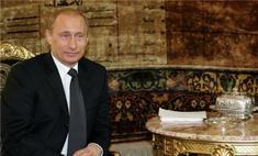 Владимир Путин сыграл на рояле на благотворительном вечере