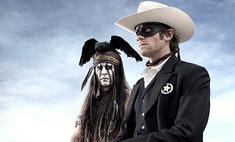 «Одинокий рейнджер»: Джонни Депп предстал в образе индейца