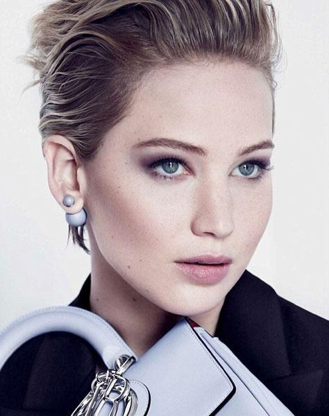 Дженнифер Лоуренс в рекламной кампании Dior осень-2014
