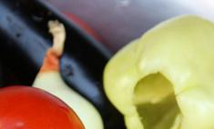 Аджапсандал: закуска из овощей гриль