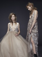 Осенняя коллекция свадебных платьев от Vera Wang.