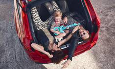 audi извинилась рекламу семейного автомобиля фотографии девочки бананом
