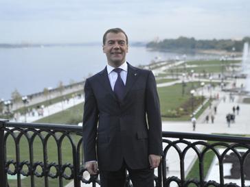 Дмитрий Медведев - юбиляр