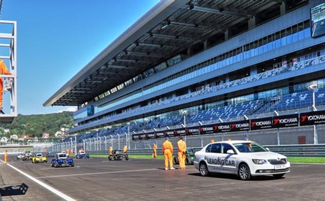 Трасса Формулы-1 в Сочи, тестовые заезды