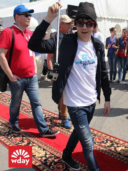 Благотворительная акция «Первого канала» «Стань первым» в Туле, Александр Бон