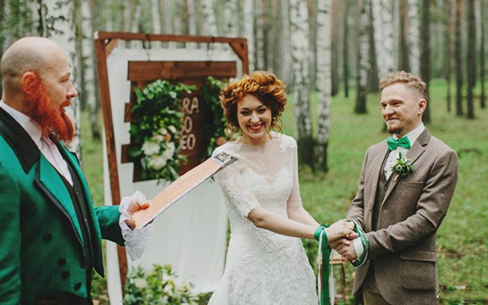 Людмила и Денис Давыдовы, свадьба