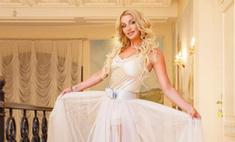 Волочкова примерила свадебное платье