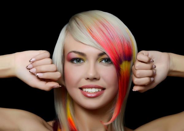 Мелирование волос мастер класс видео