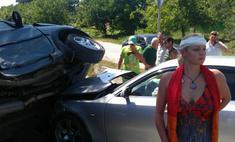 Анастасия Волочкова попала в серьезную аварию