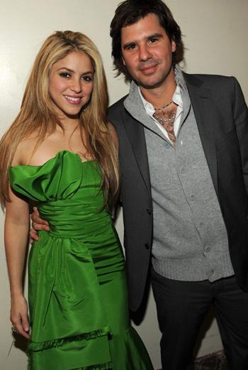 Шакира со своим бойфрендом Антонио де ла Руа