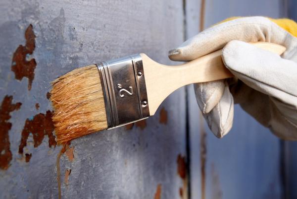 Как очистить металл от краски? Видео