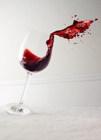 бокал красного вина в день
