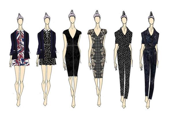 Коллекция одежды от Келли Осборн