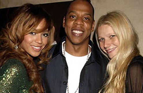 Гвинет Пэлтроу (Gwineth Paltrow), Бейонсе (Beyonce) и Jay-Z