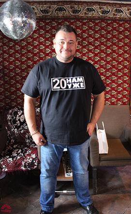 Сергей Жуков открывает бар в Екатеринбурге, фото