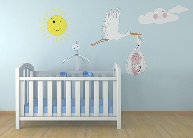Интерьер детской комнаты, фото