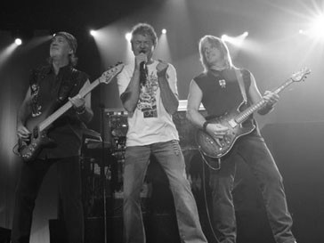 Музыканты Deep Purple встретились с российским президентом