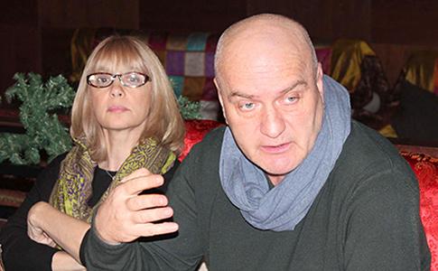 ера Глаголева и Александр Балуев в Рязани представили премьеру