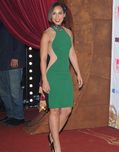 Алиша Кис (Alicia Keys) на MTV EMA 2012