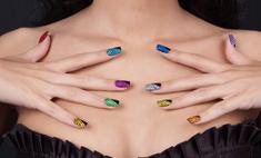 Придайте вашим ногтям яркий, красивый, оригинальный вид с помощью блесток