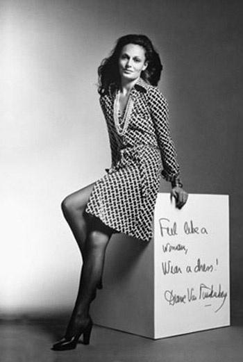 Платье Diane von Furstenberg.