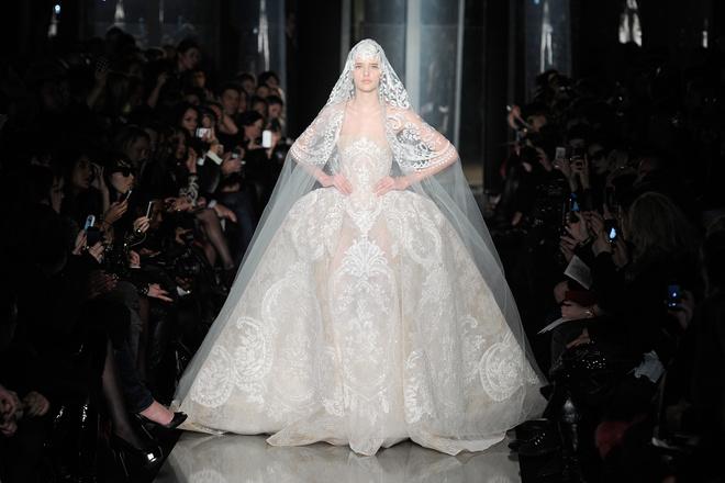 Свадебное платье в стиле барокко
