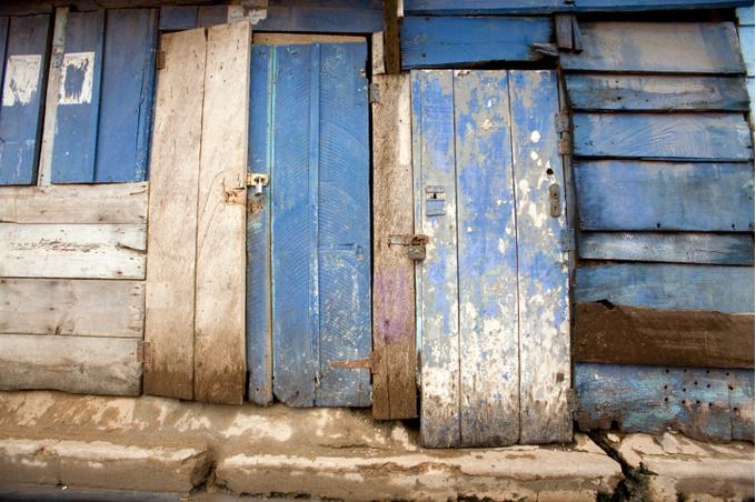 Две старые двери