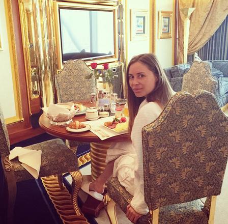 Юлия Михалкова на отдыхе в Дубаи