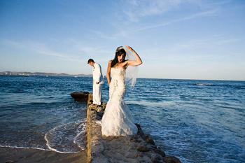 Свадебное фото Anna Kuperberg.