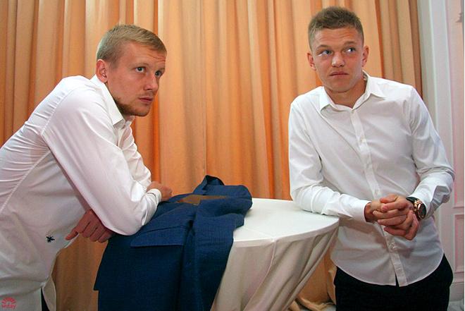 Игорь Смольников и Олег Шатов: фото