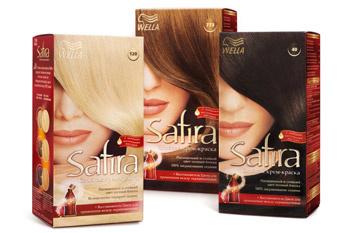 Палитра красок для волос wella