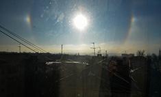 Над Калугой взошло ложное солнце