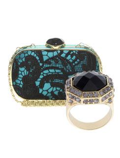 Клатч и кольцо Asos