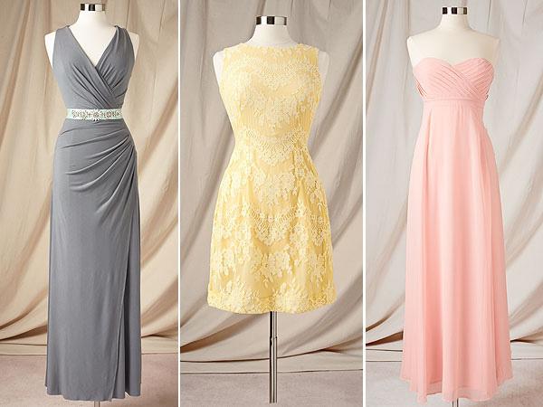 Платья для подружек невесты дизайна Евы Мендес