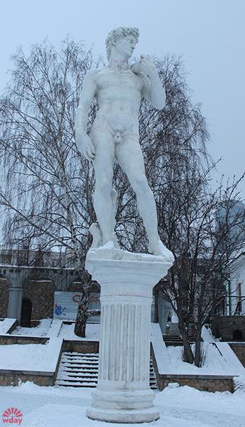 Выставка «Микеланджело. Сотворение мира», Давид, фото