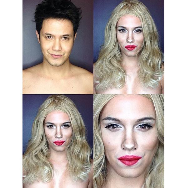 Филиппинский визажист перевоплотился в звезд с помощью макияжа   галерея [1] фото [9]