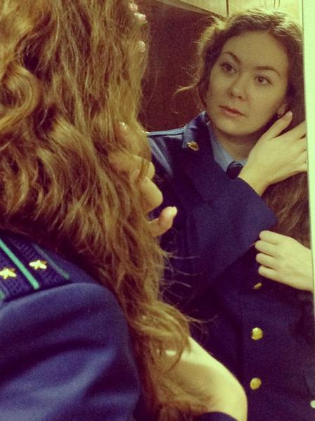 Девушки, которые служат в МВД, МЧС и прокуратуре