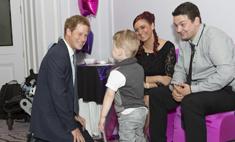 Принц Гарри вручил награды тяжело больным детям
