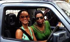 Рианна и Опра Уинфри отдохнули на Барбадосе