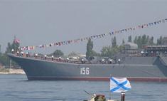 В Севастополе снова отмечают День Военно-морского флота России