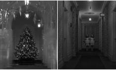 рождественское оформление меланьи трамп сравнили сиянием видео