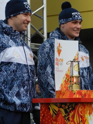 Олимпийский огонь Пенза