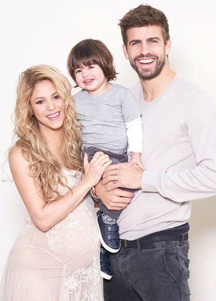 Шакира родила второго ребенка