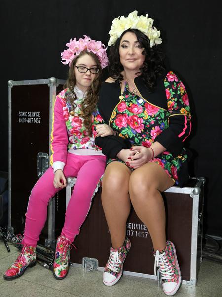 Лолита Милявская с дочкой Евой: фото