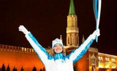 Водянова не примет участие в эстафете олимпийского огня