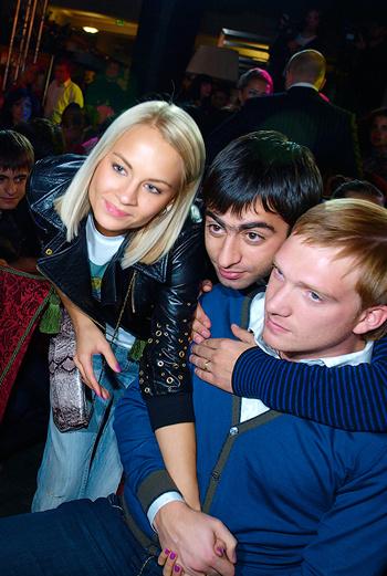 Аслан Бижоев, Андрей Бурковский с супругой