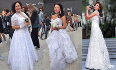 Свадебное платье спустя годы: 20 девушек, примеривших наряд снова