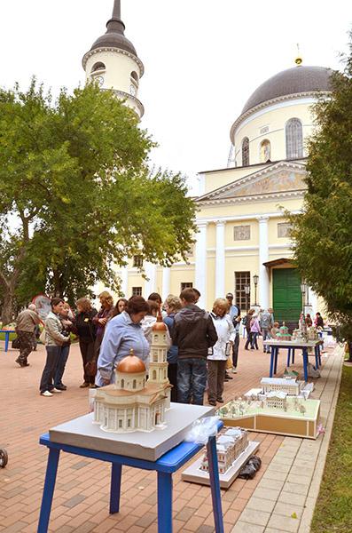 Троицкий собор Калуги и его миниатюра